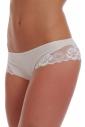 Cotton Boyshorts style Panties with Lace 1488