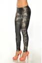 Women's elastic Leggings print 1505-3