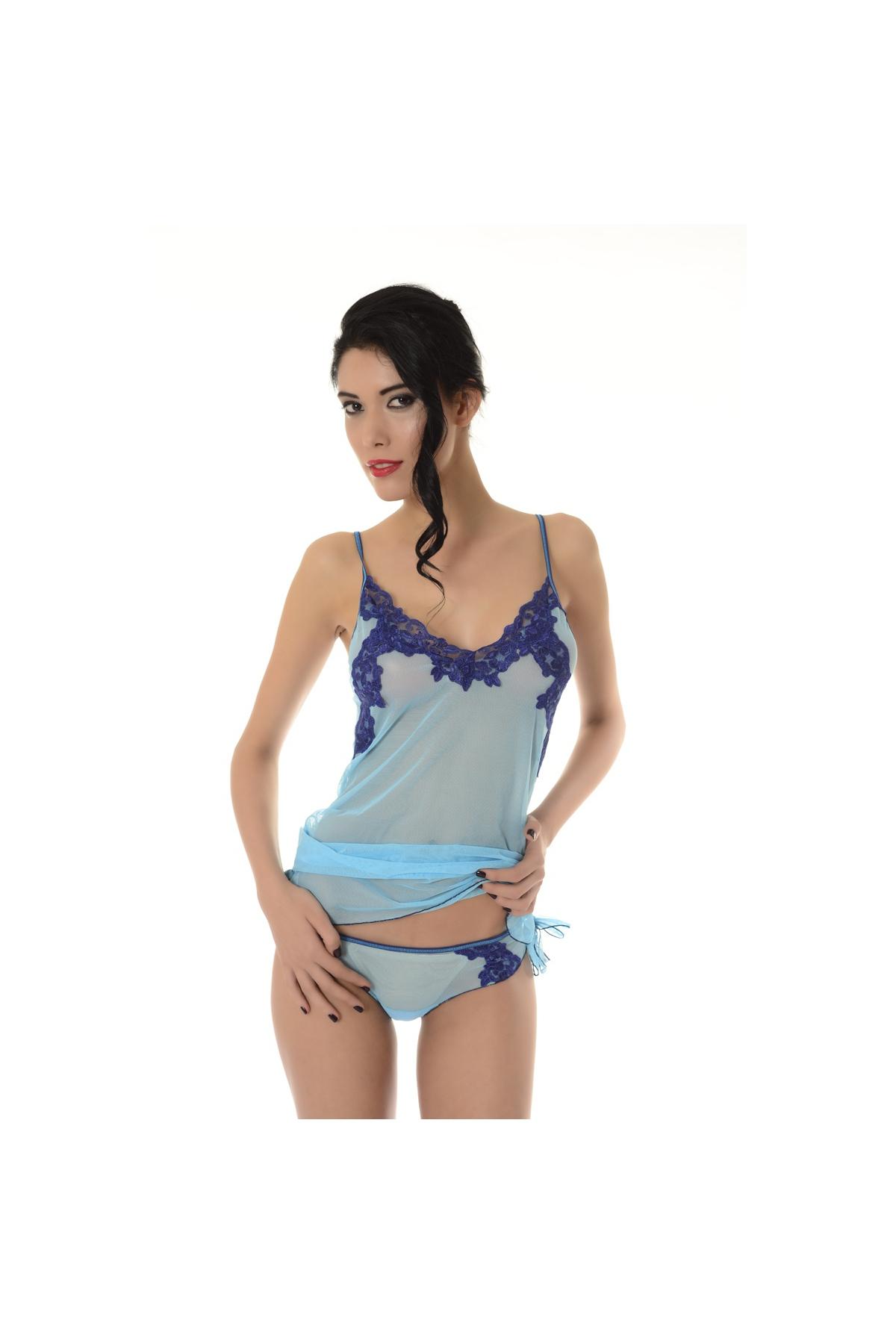 Τούλι και δαντέλα νυχτικό και γυναίκες που Σέξι Μπόξερ 882 cd3898f945e
