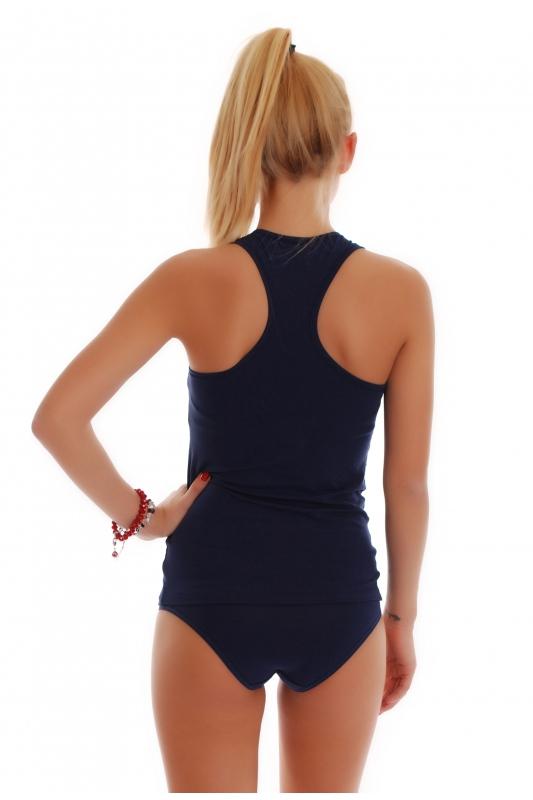 Women's Set Tank Top Open Back & Bikini Panties 1308-1027