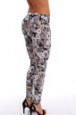 Women's Leggings cotton lycra print 1502