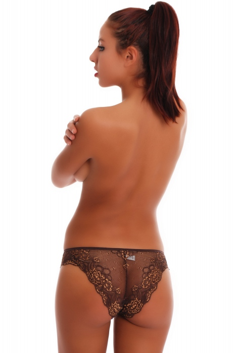 Lace Brazilian Panties on SALE 1403