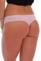Cotton Panties Boyshorts Thong with Lace 1407