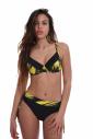 Bikini set type soft cup bra & Brief style bottoms 1807