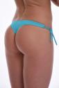 Bikini bottoms thong style thin tie side 100