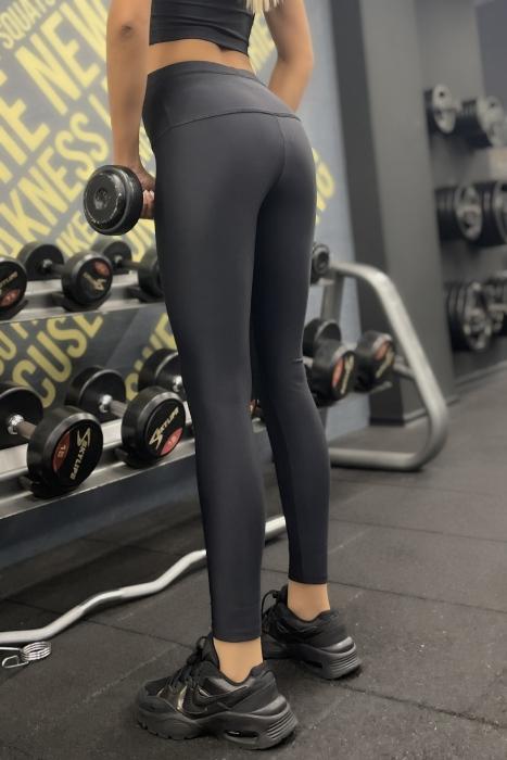 Women's elastic Leggings Microfiber High waist 642