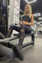 Women's Set for Sport Leggings High waist & Top Microfiber 654