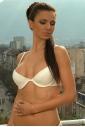 Ladies Cotton Set Bra & G-string Panties 3120-1105